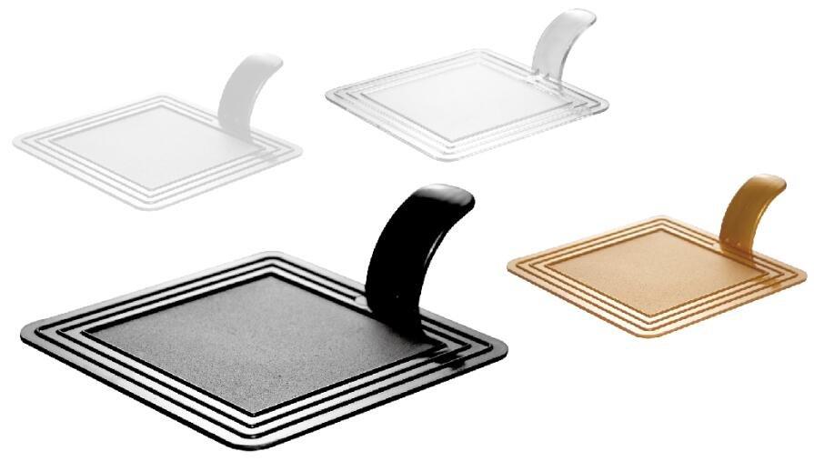 HoChong-Square Plastic Cake Tray Cake Tool For Dessert Shop Party-hochong Plastics