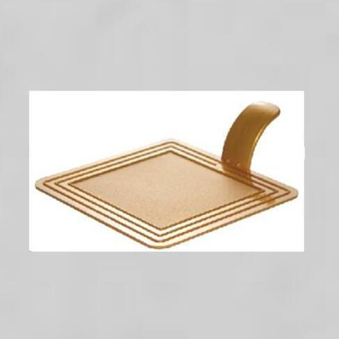 Square Plastic Cake Tray Cake Tool For Dessert Shop Party