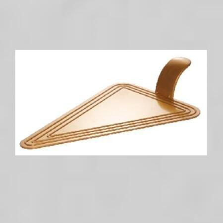 Triangle  Plastic Cake Tray Cake Tool For Dessert Shop Party