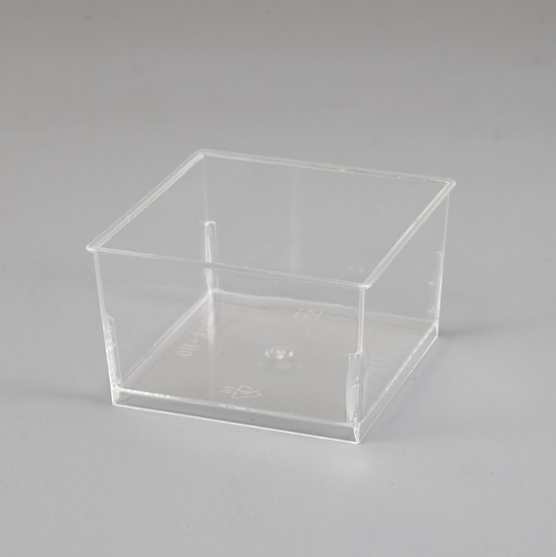 HoChong-Find Square Clear Plastic Cups For Mousse,dessert Cups 145ml Square Plastic-2