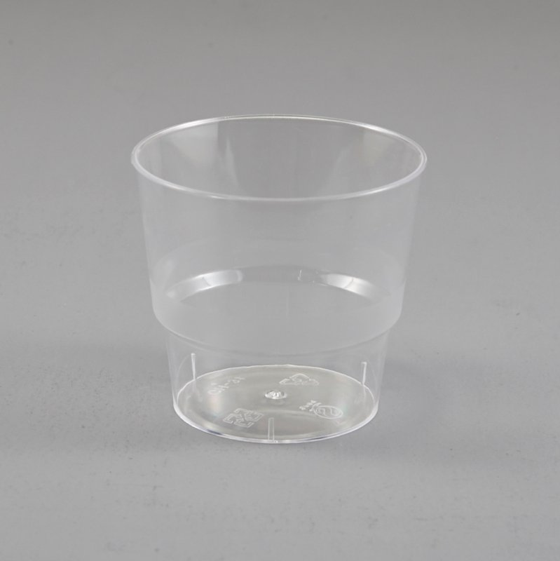 HoChong-Find Round Ramekin Plastic Dessert Jelly Cups Cake Mousse Party 180ml