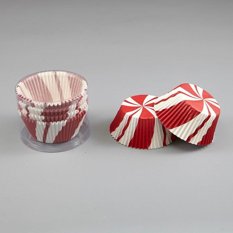 Cupcake Paper Cups White And Red