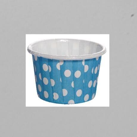 Round Side Design PET Film Paper Cupcake CUP With Food Grade Material