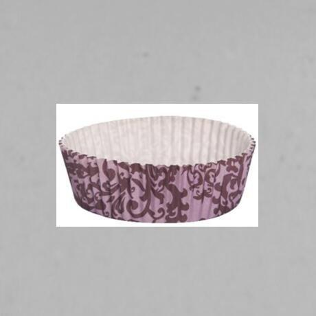 Multi-Size Eco Friendly Disposable PET Film Paper Cupcake Bowl Ripple Wall For Food Packing
