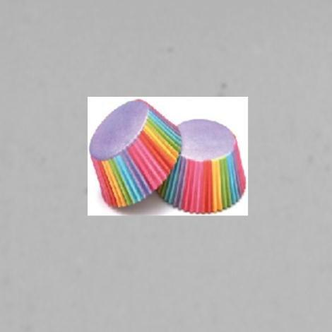 Cupcake Wrappers Toppers Rainbow Kids Birthday Party Wedding Baby Shower