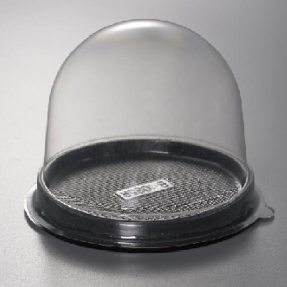 Clear Plastic Hinged Food Take-Out  Dome Container Clamshell Box for Sandwich Fruit Salad Pie CheeseCake