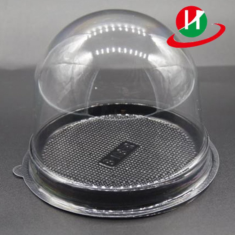 HoChong-Best Clear Plastic Hinged Food Take-out Dome Container Clamshell Box