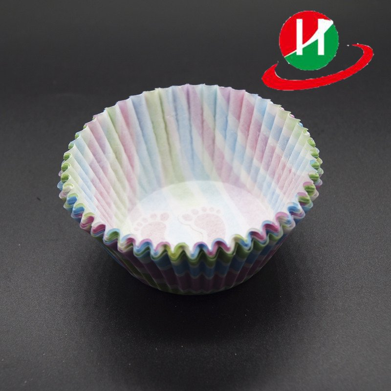 HoChong-Find Colorful Round Type Custom Cupcake Muffin Cup Food Grade Anti-oil