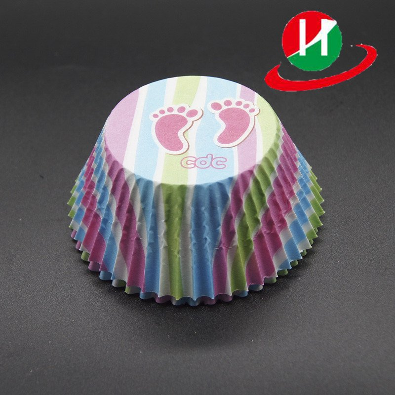 HoChong-Find Colorful Round Type Custom Cupcake Muffin Cup Food Grade Anti-oil-1