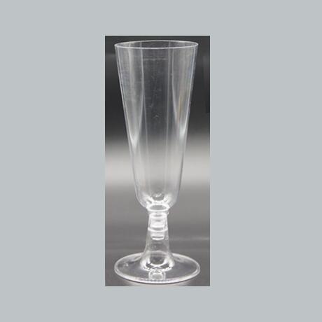 3OZ Plastic Clear Disposable Reusable  Wine Goblet Champagne Flutes Glass Cocktail Dessert Cups , Perfect