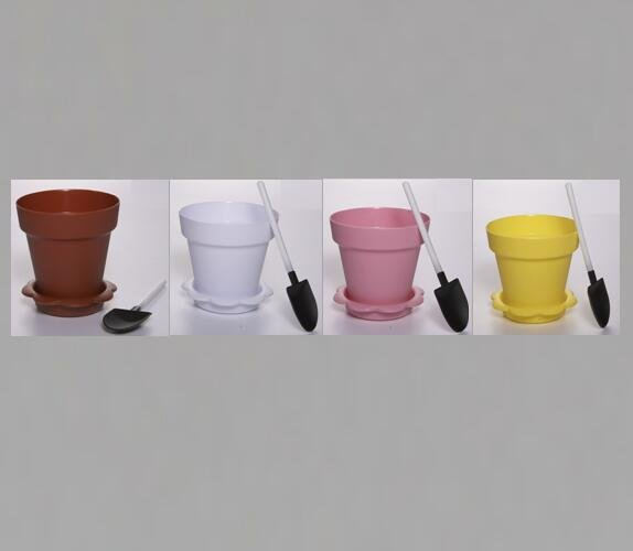 HoChong-Find Flower Pot Shape Diy Baking Plastic Dessert Jelly Cake Yogurt