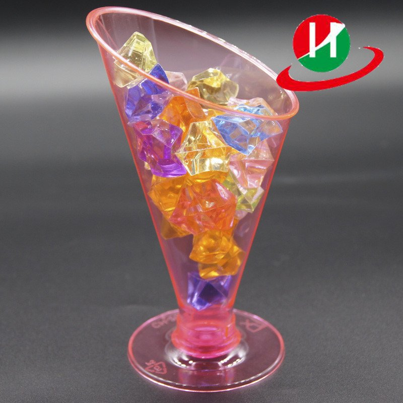 HoChong-Find Flower Pot Shape Diy Baking Plastic Dessert Jelly Cake Yogurt Mousse
