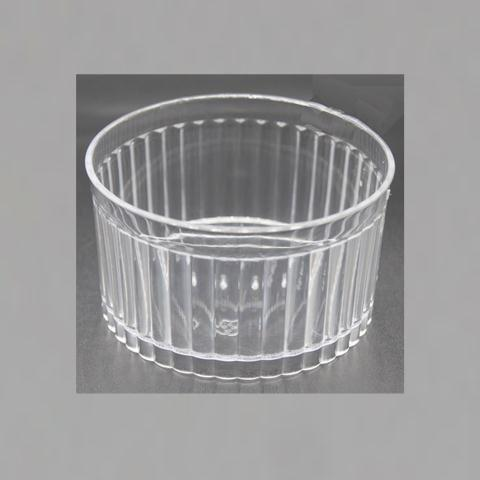Disposable & Reusable Oven-safe Plastic Dessert Cups - Great for Chocolate Desserts, Appetizers, Dessert Samplers & More