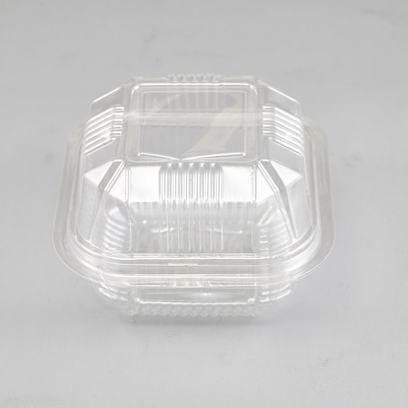 HoChong-Find Square Clear Food Grade Bops Material Mini Cake Take Out Container