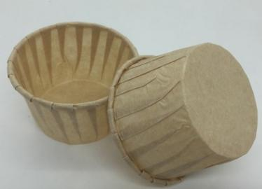 HoChong-4 Oz Food-grade Disposable Paper Souffle Cups Paper Baking Cup Cupcake Liners Muffin Cups-5