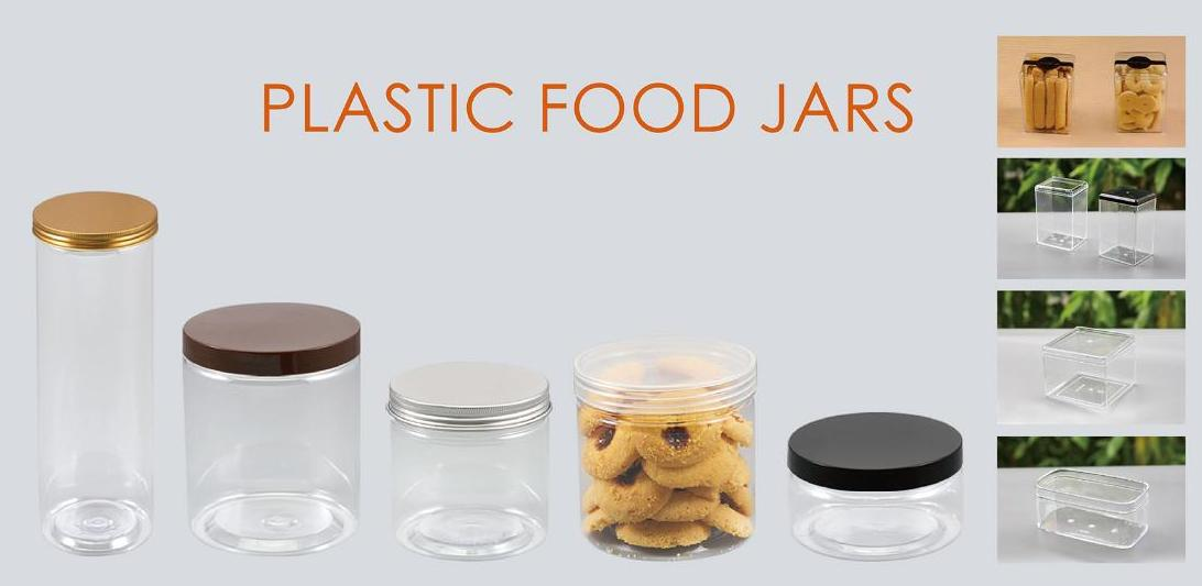 HoChong-Best 150ml - 1410 Ml Clear Round Pet Plastic Containers Plastic Jars With