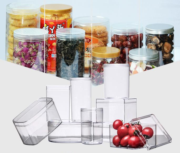 HoChong-Best 150ml - 1410 Ml Clear Round Pet Plastic Containers Plastic Jars With-3