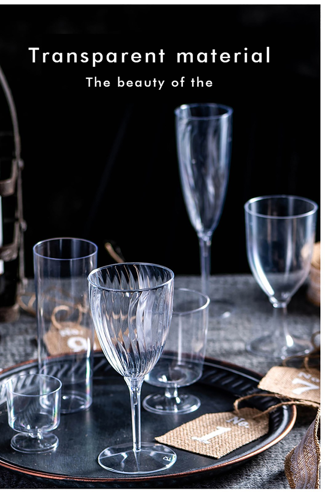 HoChong-Plastic Wine Goblets Bulk | Champagne Cup - Hochong Plastics-2