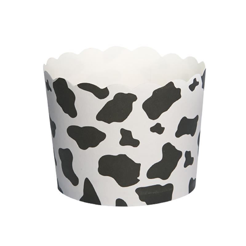 Popular Design PE Film Paper Cupcake CUP With Food Grade Material