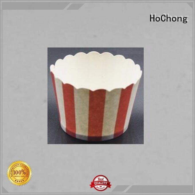 HoChong pe paper cup ice cream with elegant cupcake liners for birthday
