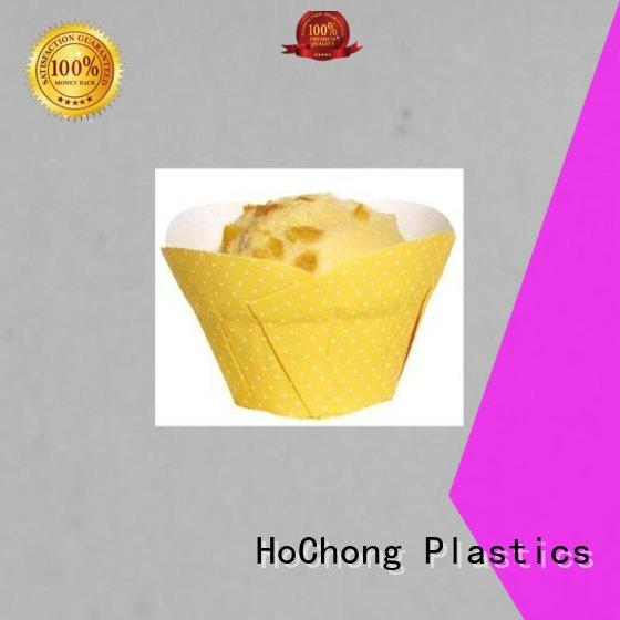 HoChong multi-color plastic cupcake boxes fit your needs for birthday