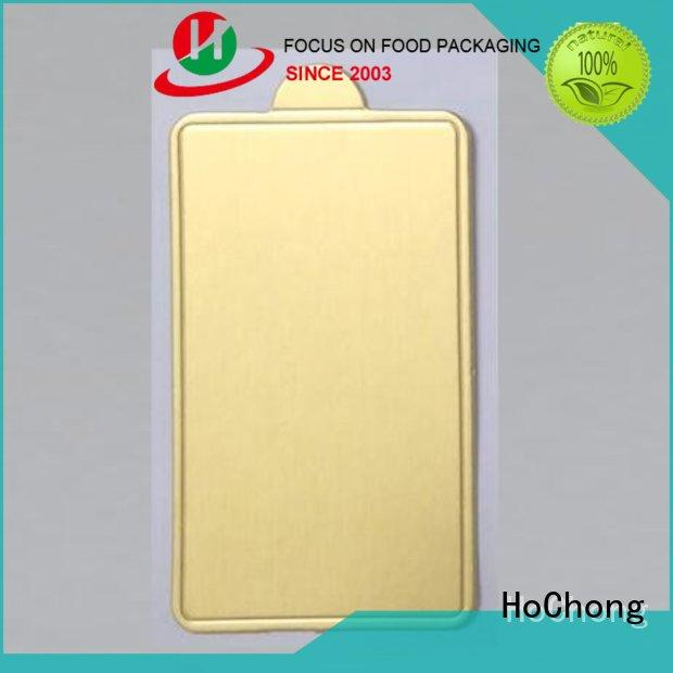 HoChong disposable party trays with various shapes for handle
