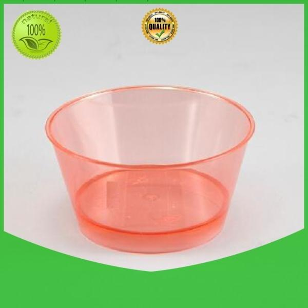 flutes goblet supplies HoChong clear plastic dessert cups with lids