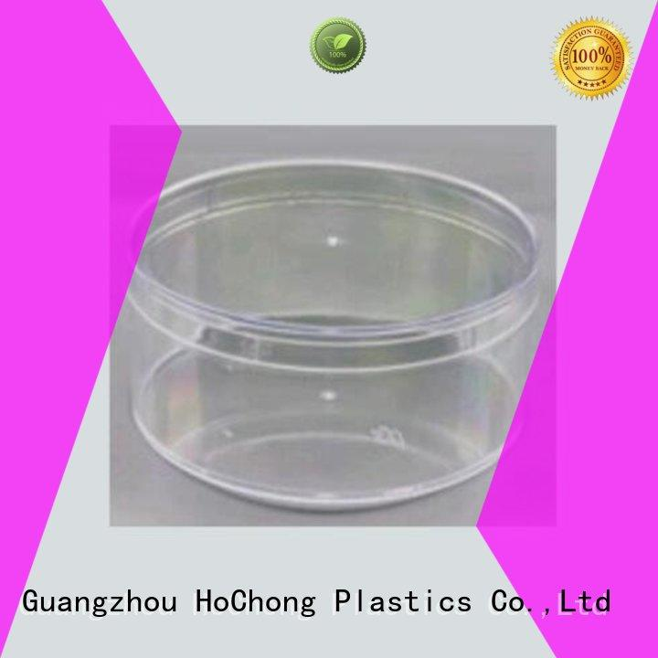 HoChong clear plastic jars with clear lid for small Parts