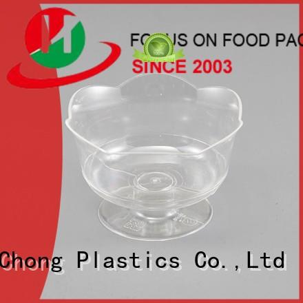 HoChong beauty plastic party cups with lids fit your needs for wedding