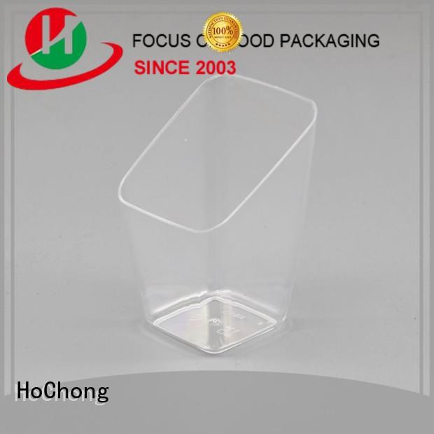 HoChong disposable plastic dessert cups wholesale bars for outdoor party