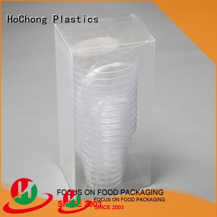 HoChong small plastic cupcake containers fit your needs for themed celebrations