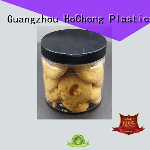 trifle plastic food jars with high quality for dry foods HoChong
