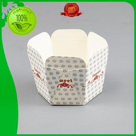 Hot bakery case liner cupcakes square HoChong Brand