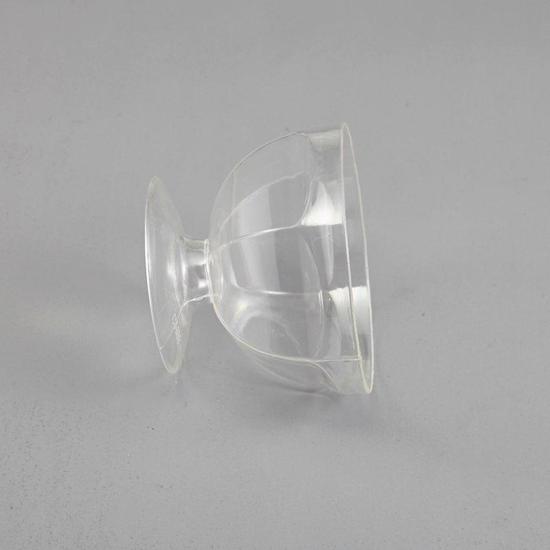 HoChong-Find Rhombic Clear Plastic Pet Cups Jello Pudding Ice Cream Yogurt Mousse-2