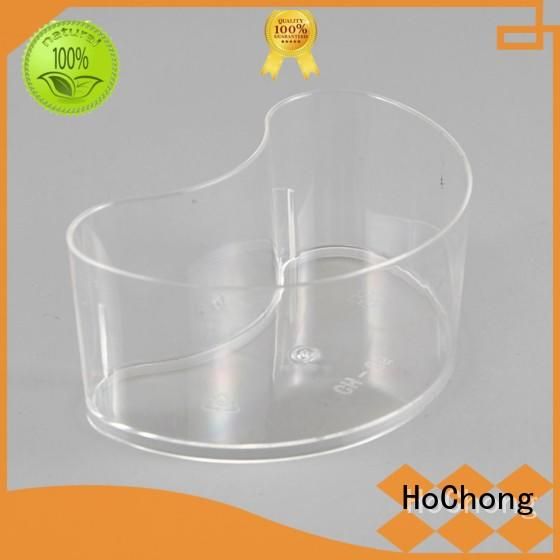 HoChong colors plastic dessert cups with lids fit your needs for outdoor party