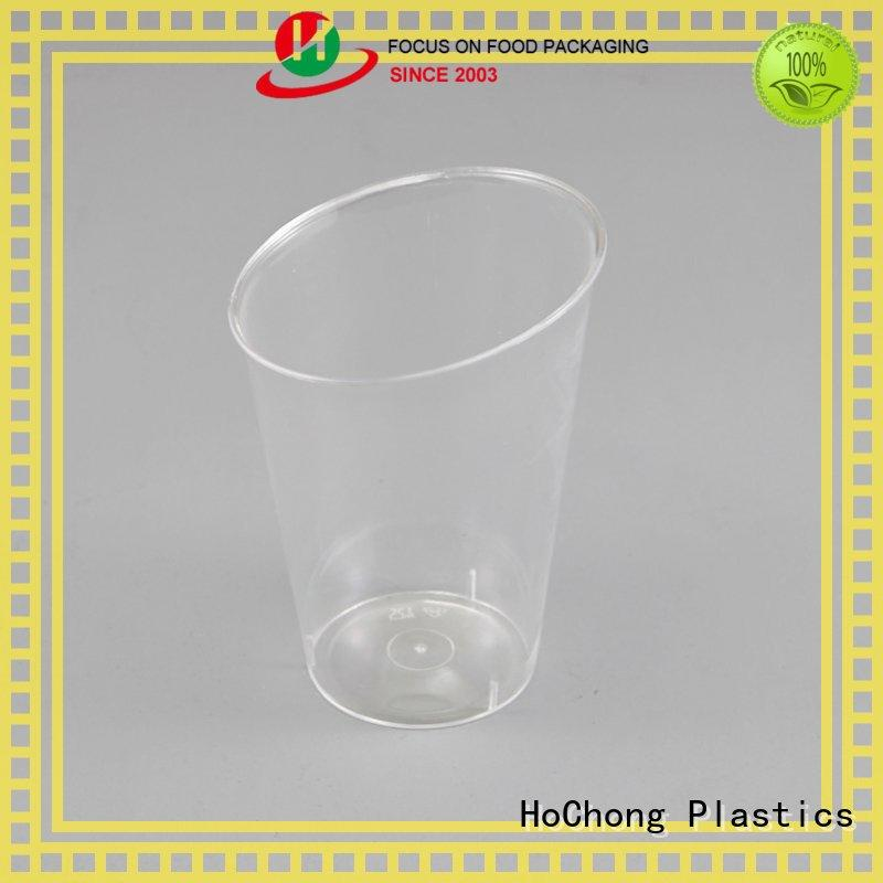 HoChong online small clear plastic dessert cups fit your needs for restaurant & kitchen supplies