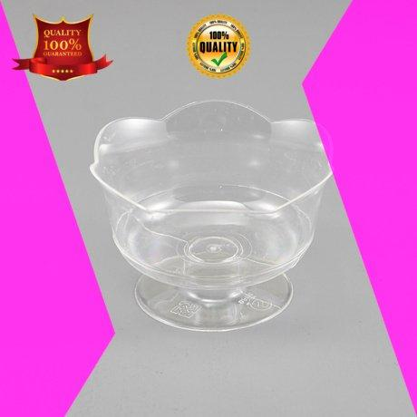 clear plastic dessert cups with lids party footed plastic dessert cups