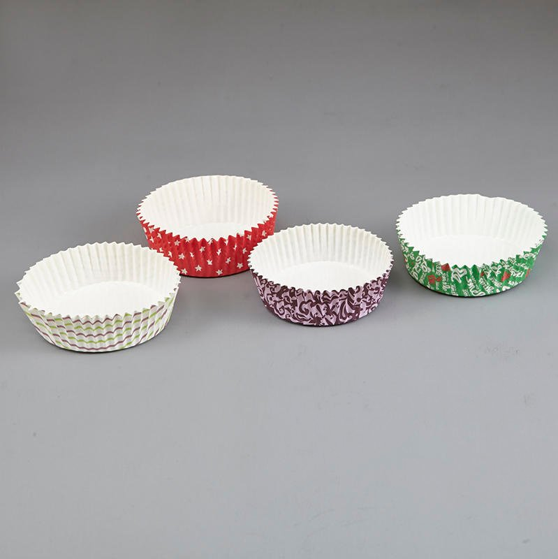 HoChong-Find Multi-size Eco Friendly Disposable Pet Film Paper Cupcake Bowl Ripple-1