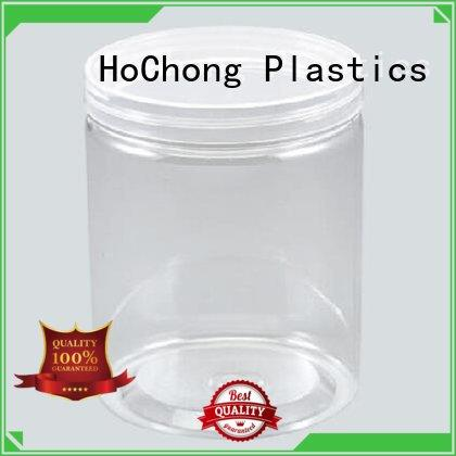HoChong crystal plastic jam jars fit your needs for cookies