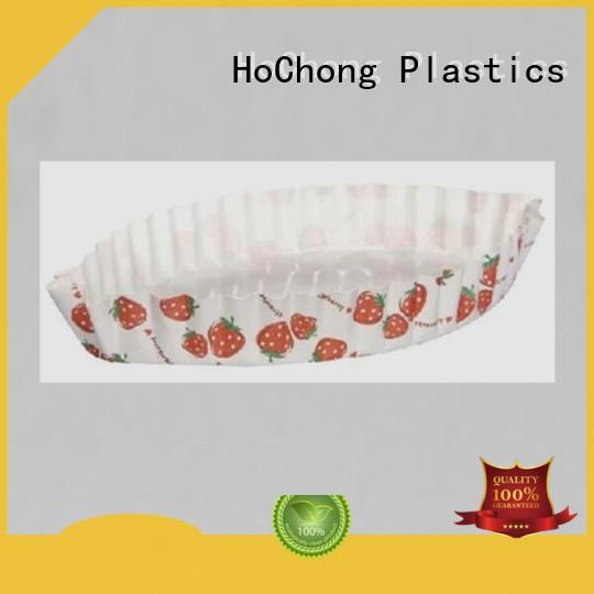 HoChong disposable plastic cupcake containers with high quality for holiday party