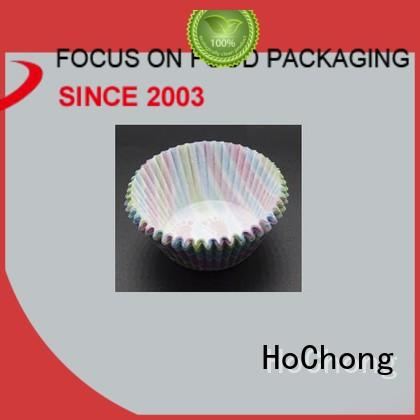 HoChong cake mini paper cups fit your needs for hot and cold appetizers