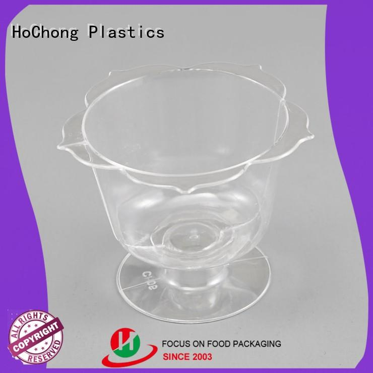 HoChong fashion hard plastic party cups fit your needs for family gathering