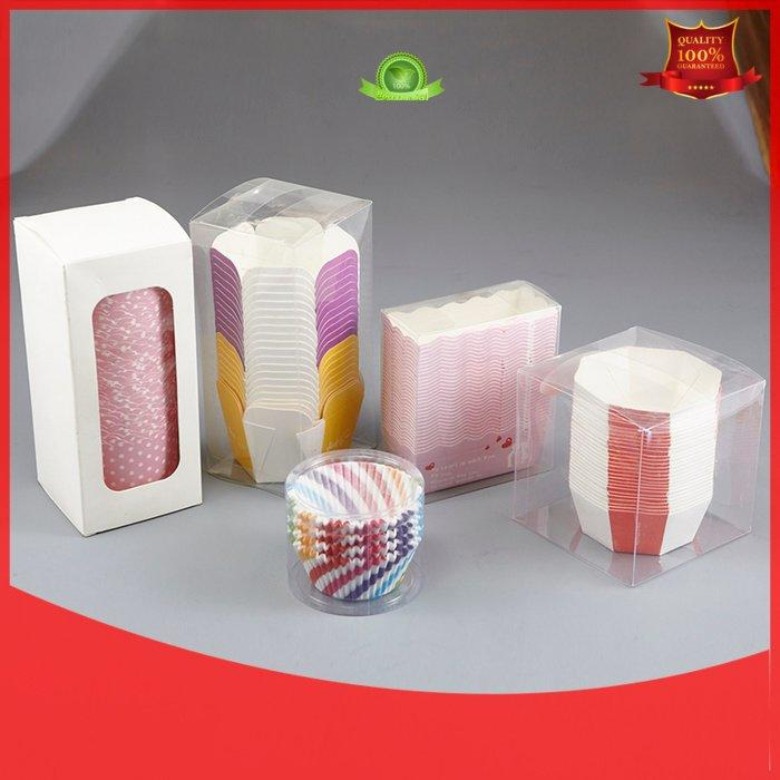 HoChong Brand packing paper pvc bakery case