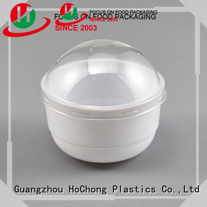 available plastic dessert cups with lids round with high quality for family gathering