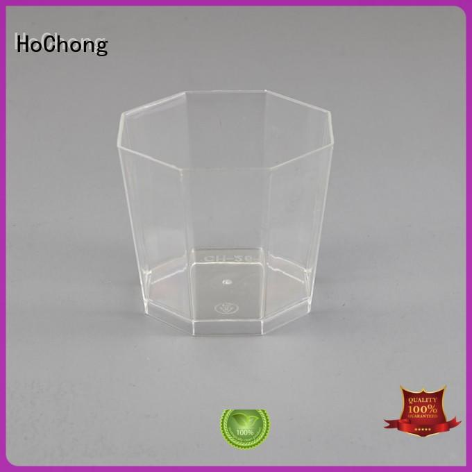 HoChong lid plastic dessert cups with high quality for wedding