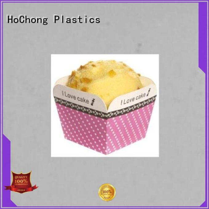 HoChong multi-color plastic cupcake holders from for baby shower