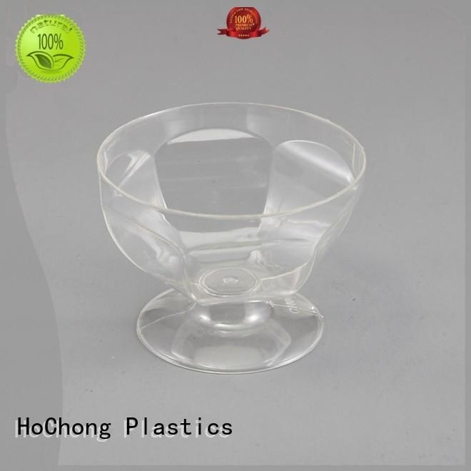 beauty disposable party glasses with different shapes for restaurant & kitchen supplies HoChong