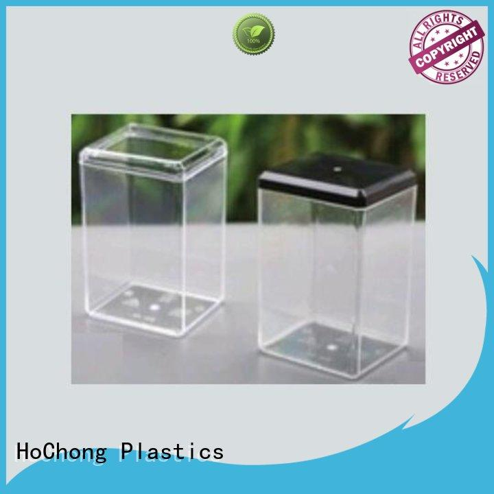 HoChong air-tight cheap plastic food containers with high quality for crafts