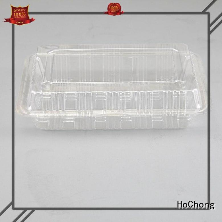 HoChong safety small plastic storage boxes with hinged lids black