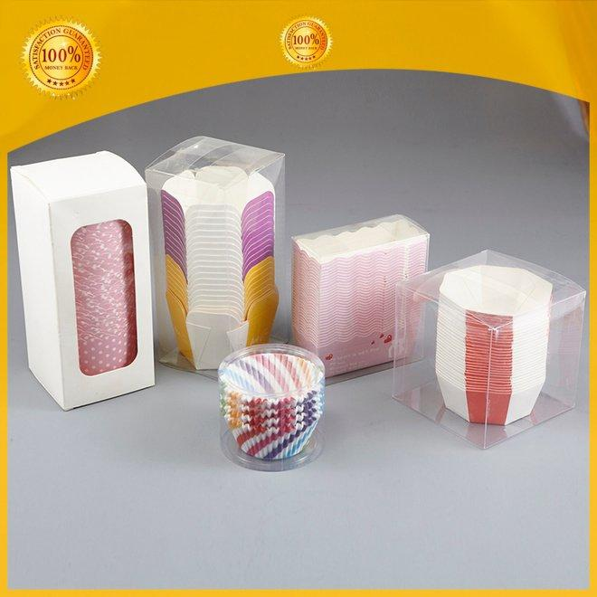OEM plastic cups packing shrink bakery case
